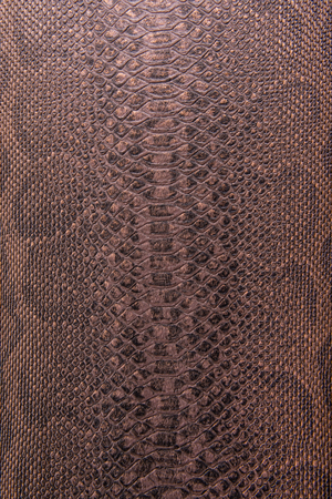 metallic texture: Bronze snake pattern imitation, background