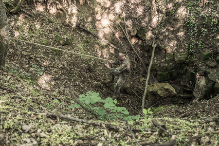 obstacle course: Hungary, Orfu - May 3-8: Elite Challenge is a program designed both for civilians and professionals who wish to try out what it feels like to get through Special Forces selection just like if you wanted to get into the ranks of the US Army special forces.