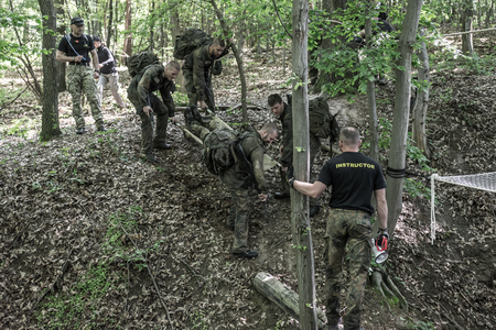 38: Hungary, Orfu - May 3-8: Elite Challenge is a program designed both for civilians and professionals who wish to try out what it feels like to get through Special Forces selection just like if you wanted to get into the ranks of the US Army special forces.