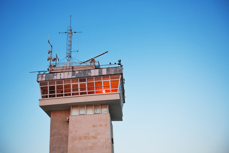 control tower: Sea traffic control tower