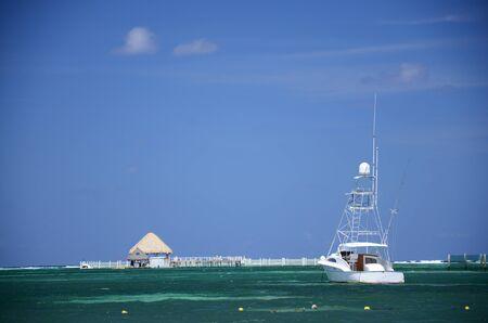 카리브 해의 물과 물줄기 스톡 콘텐츠