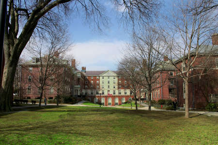 ivy: Image of a Brown University Dormitory, one of the schools of the (in)famous US East Coast Ivy League.
