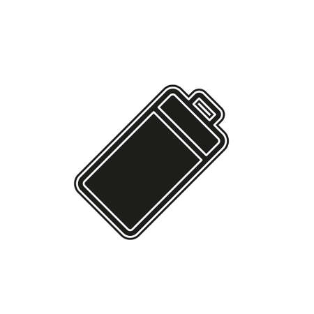 Simple Battery isolated. Flat pictogram - simple icon 일러스트