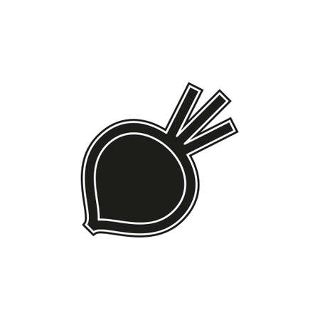 sugar Beet illustration isolated