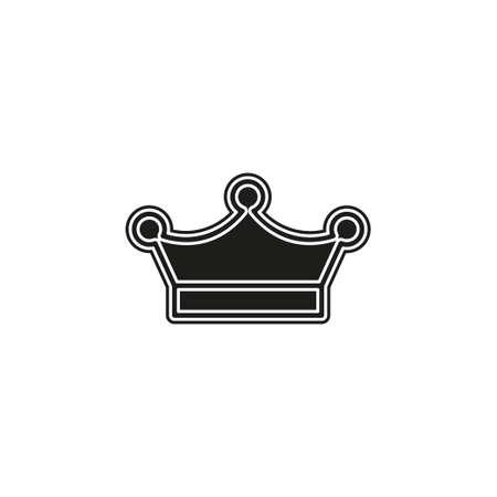 Crown king icon illustration Ilustração
