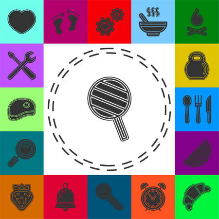 vector lollipop, lollipop vector candy - sweet symbol. Flat pictogram - simple icon
