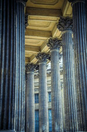 Columns Kazan Cathedral Stock Photo - 15491866