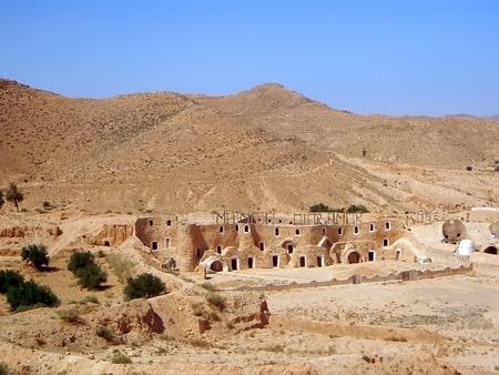 The Museum of Diar Amor in Matmata south Tunisia