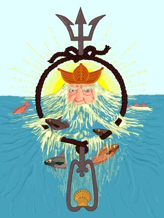 neptuno: El dios de los mares
