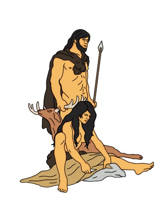 stoneage: The hunter and his wife