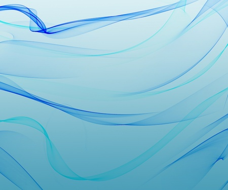 Blue smooth abstract background with shining light
