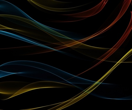 Black smooth abstract background with shining light  Stock Photo
