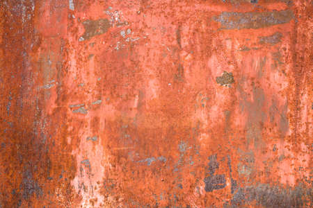 Grunge background of a horizontal panel rusty. Stock Photo