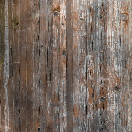 full frame: Planks of rustic wood with light brown tones. Stock Photo