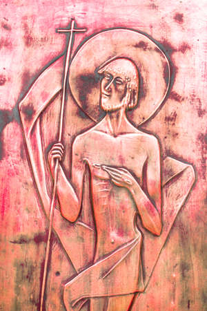 viacrucis: An icon depicting Jesus passion and death.