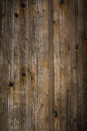 grunge backgrounds: Rustic wooden background, scratched and damaged by time