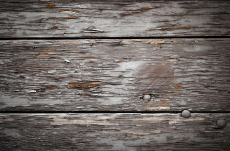 painted wood: Background of painted gray old natural wood planks
