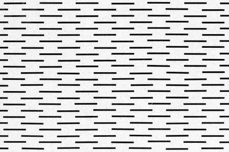 lineas horizontales: Líneas al azar horizontales negras, fondo inconsútil del modelo. Estructura celular fría. Foto de archivo
