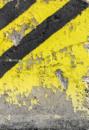 peeled: Industry warning sign. Abstract grunge background. Stock Photo