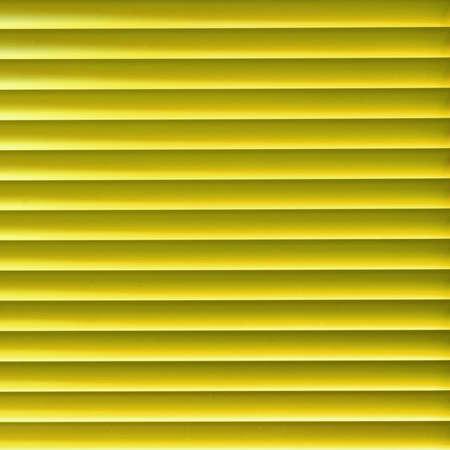 Modern yellow light blinder close up background