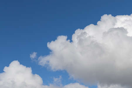 blue sky with clouds. Ideal for textures and backgrounds.
