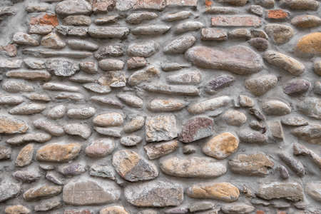 Stone wall for background. Stone wall texture. Stock fotó