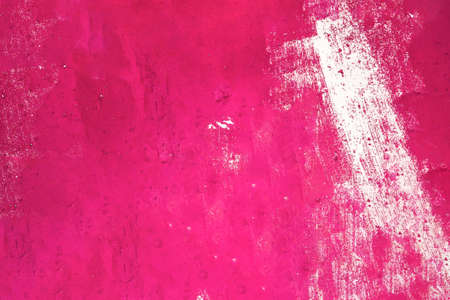 Pink painted grunge texture. Fuchsia painted wall paper texture background.  Banque d'images