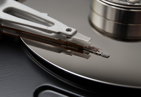 Hard disk for saving and recording information