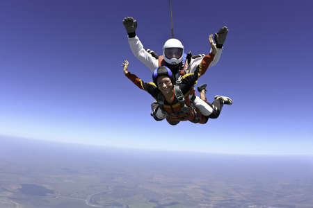 Skydiving photo  Tandem