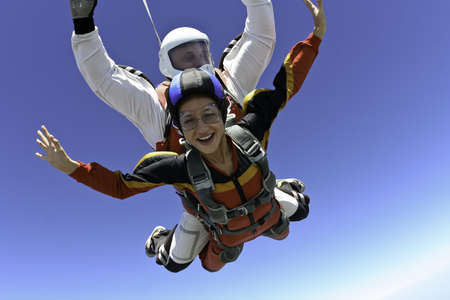 responsibility: Skydiving photo