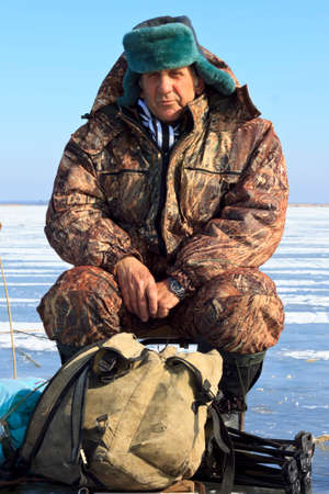 Ice Fishing photo  photo