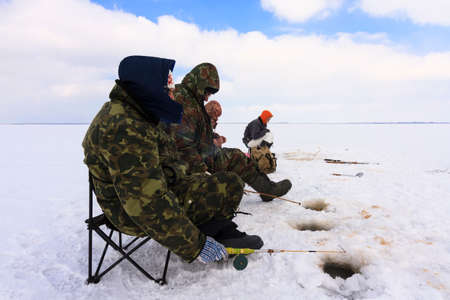 Ice Fishing photo  photo