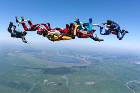 Skydiving photo  Reklamní fotografie