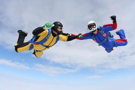 Skydiving photo  photo