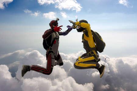 air jump: Skydiving photo   Stock Photo