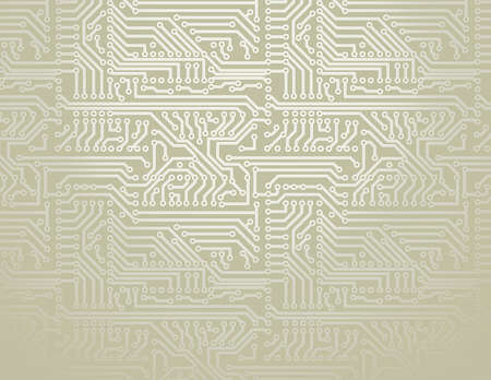 electric circuit: silver circuit board background