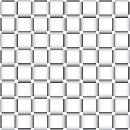 シームレスな枝編み細工品型紙  イラスト・ベクター素材