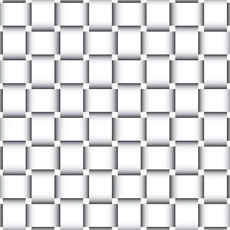 naadloze rieten papieren patroon Stock Illustratie
