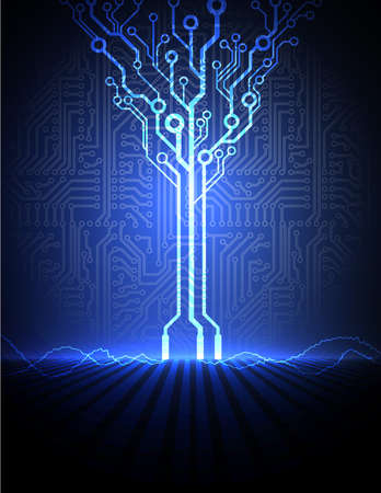 conceptual electronic background