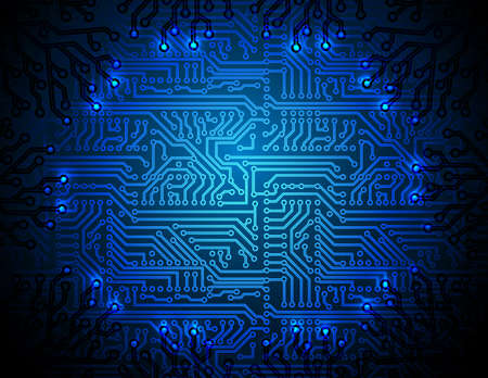 circuit board background Stock Vector - 13696039