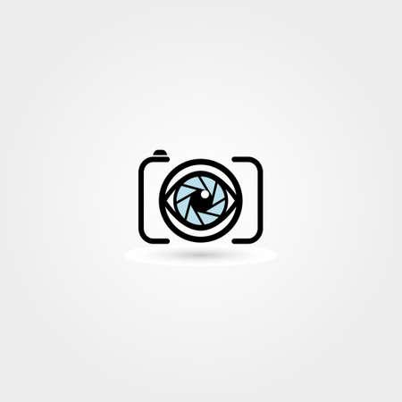 カメラの目のアイコン