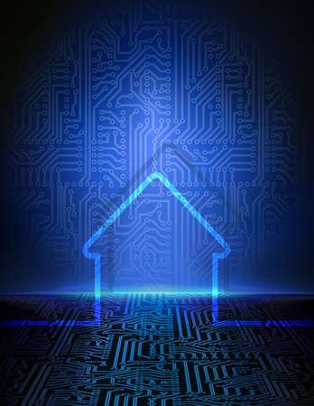 Casa inteligente resumen de antecedentes