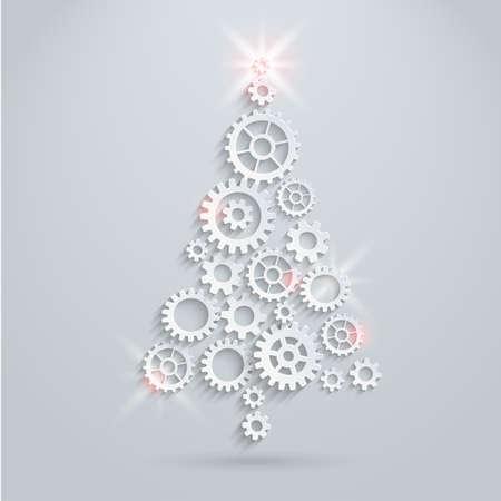 Mechanische kerstboom