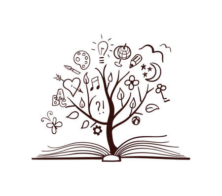 libraries: Vector tree of knowledge