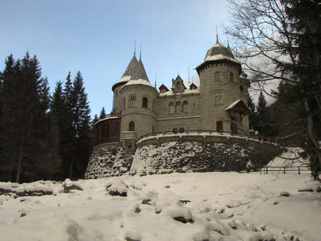 Gressoney - St.Jean Castle, Valle d'Aosta (Italy)