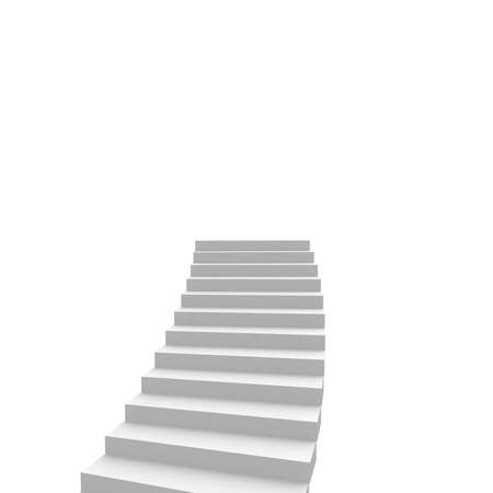 ascend: stairs leading up. computer generation