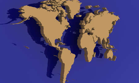 detailed map of the world photo
