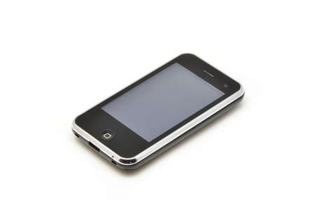 mobile phone on white background Stock Photo - 12903990