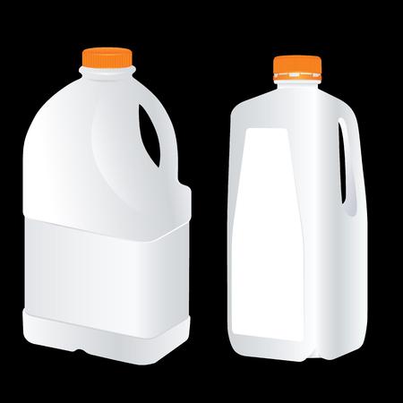 gal�n: Vector Blank Plastic Gallon