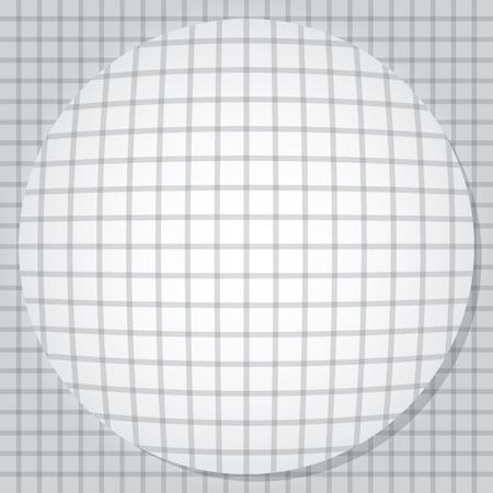 Bulging circle. Vector illustration EPS10 Illusztráció
